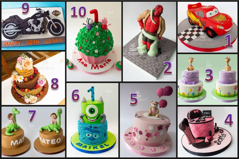 Collage top 10 Pastelería D.C