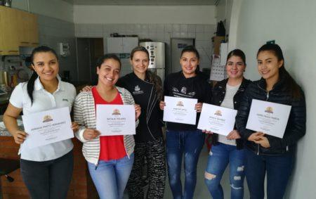 Alumnas Primer Taller de repostería Básica Pastelería D.C en Bogotá