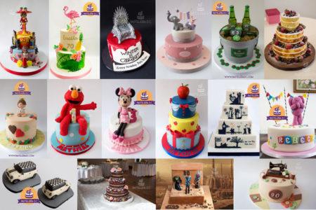 Collage tortas 2017 Pastelería D.C