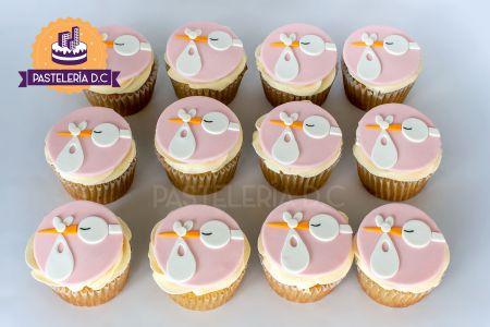 cupcakes-ciguena-nina