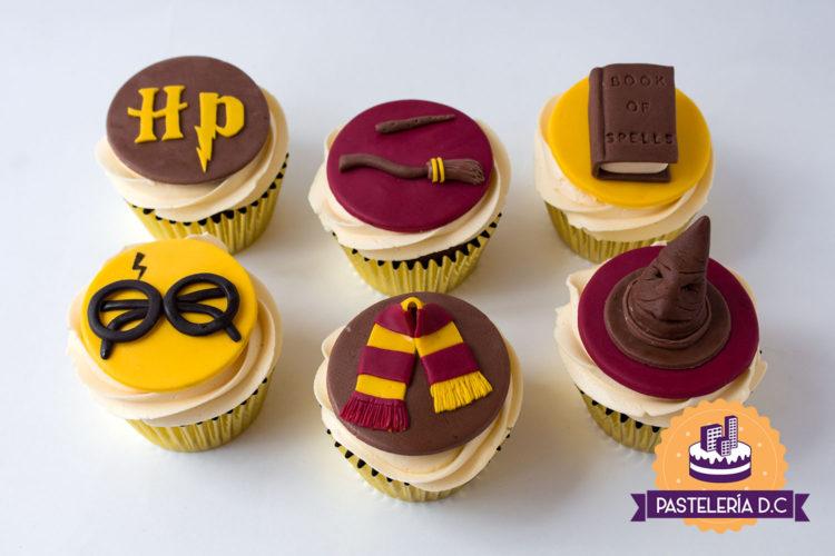 Cupcakes personalizados temáticos en Bogotá Harry Potter