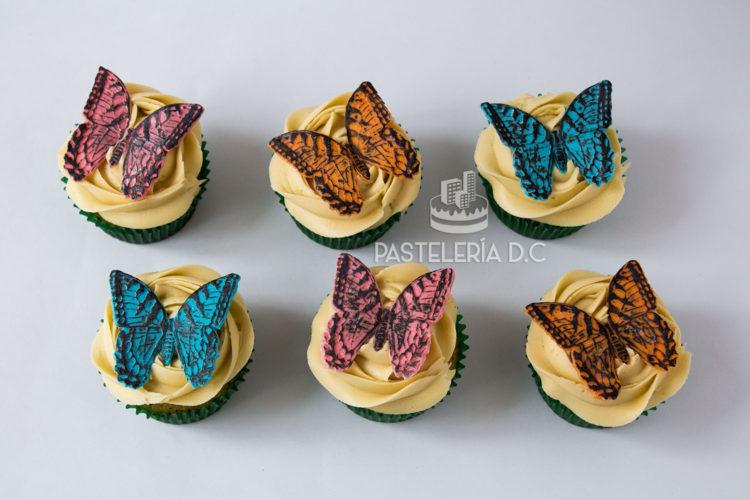 Cupcakes de Mariposas en Bogotá