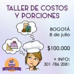 Taller de Costos y Porciones en Bogotá