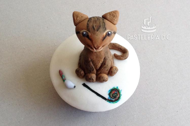 Cupcakes personalizados en Bogotá Gato