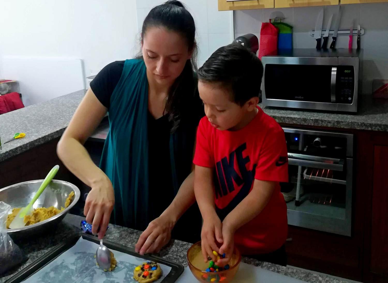 receta fácil de galletas