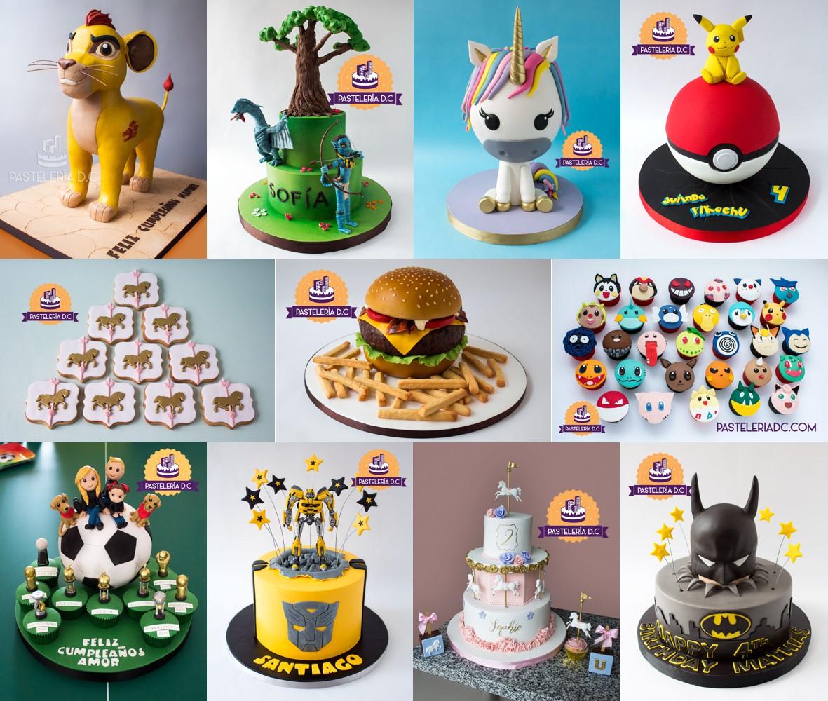 Top 10 2018 tortas Pastelería D.C