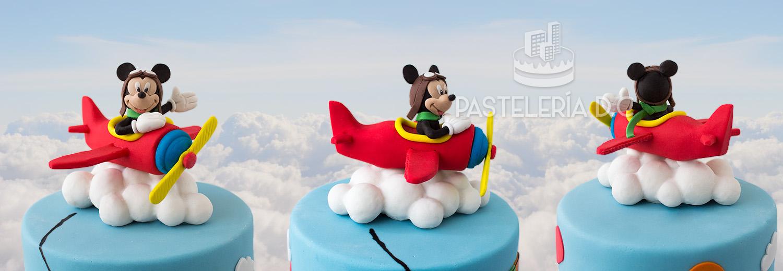 Topper personalizado de Mickey Mouse Aviador