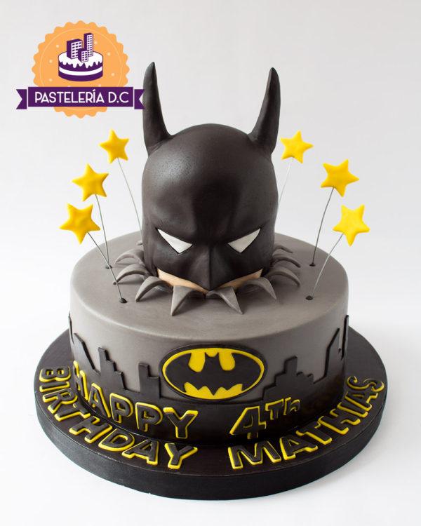 Ponqué Pastel Torta personalizada Batman Superhéroes en Bogotá