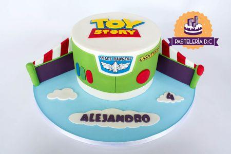 Ponqué Pastel Torta personalizada en Toy Story Buzz Lightyear