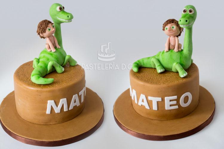 Ponqué Pastel Torta personalizada en Bogotá Gran Dinosaurio