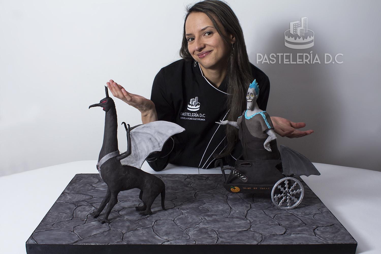 Ponqué Pastel Torta personalizada Hades Hércules en Bogotá