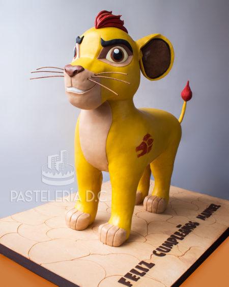 Ponqué Pastel Torta personalizada en Bogotá Kion La guardia del León