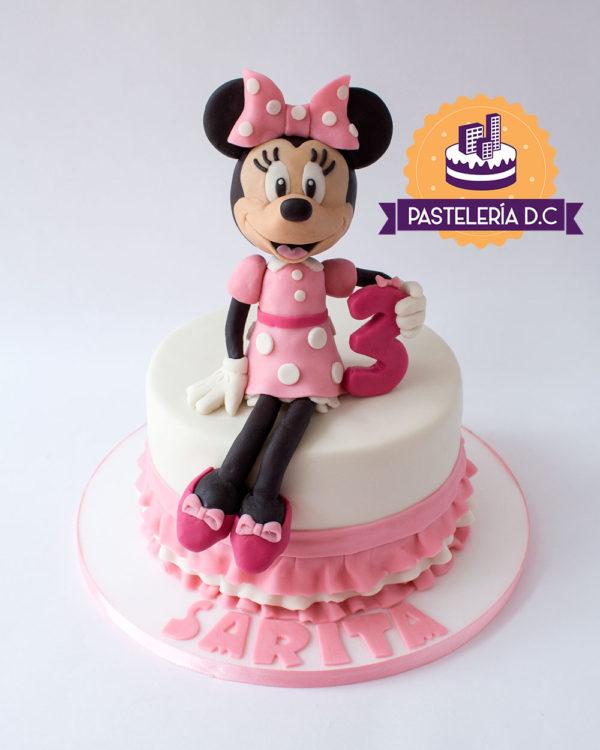 Ponqué Pastel Torta personalizada en Bogotá Minnie Mouse