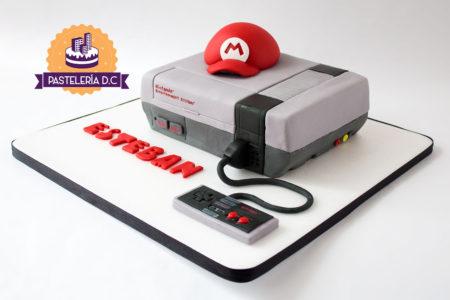 Ponqué Pastel Torta personalizada en Bogotá Nintendo NES con Control