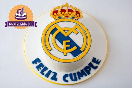 Ponqué Pastel Torta personalizada en Bogotá Real Madrid