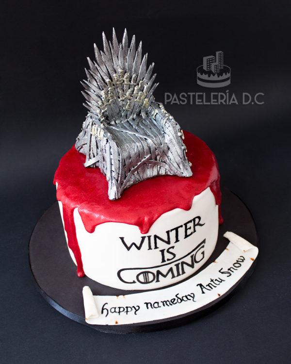 Ponqué Pastel Torta personalizada en Bogotá Game of thrones o Juego de tronos