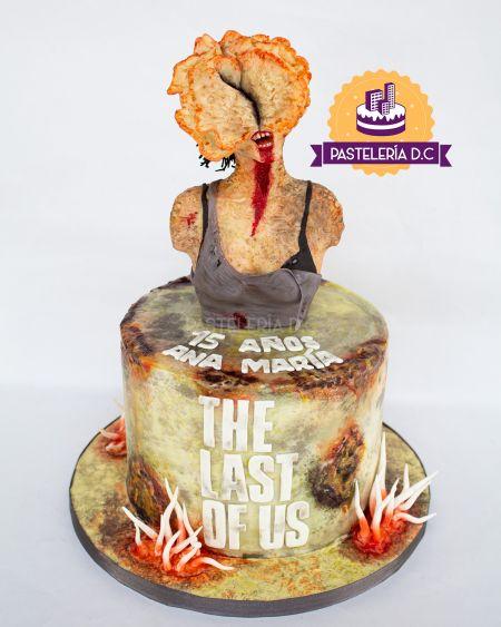 Ponqué Pastel Torta personalizada en Bogotá Clicker The Last Of Us Zombie